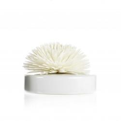 Diffuseur ceram fleur de Goatier 200ml white - GOA