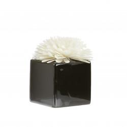 Diffuseur ceram fleur de Goatier 80ml black - GOA