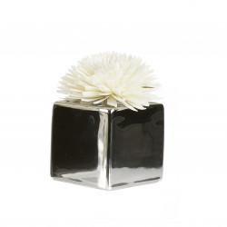 Diffuseur ceram fleur de Goatier 80ml silver - GOA