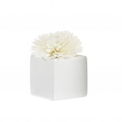 Diffuseur ceram fleur de Goatier 80ml white - GOA
