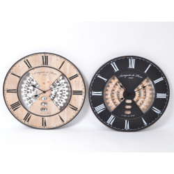 Tempo horloge calendrier 80cm - HOME EDELWEISS