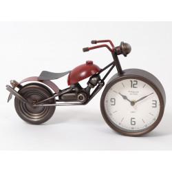 Autrefois horloge moto 32cm - HOME EDELWEISS