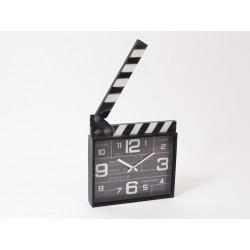 Cinema horloge clap - HOME EDELWEISS