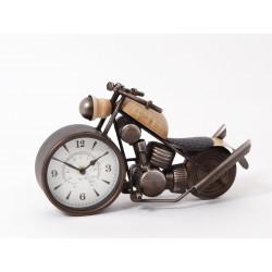 Autrefois horloge moto 33cm - HOME EDELWEISS