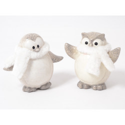 Slava hibou/pingouin 15cm ass - HOME EDELWEISS