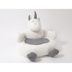 Licorne coussin pouf - HOME EDELWEISS