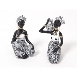 Kenya africaine assise 16cm - HOME EDELWEISS