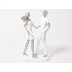 Romance couple coeur 25cm ass - HOME EDELWEISS