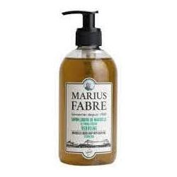 Savon Liquide de Marseille 400 ml pompe Verveine - SAVONNERIE MARIUS FABRE