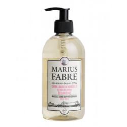 Savon Liquide de Marseille 400 ml pompe Eglantin - SAVONNERIE MARIUS FABRE