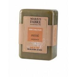 Savonnette 150 g Santal à l'huile d'olive 1900 - SAVONNERIE MARIUS FABRE