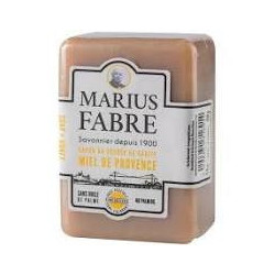 Savonnette 150 g Miel de Provence au beurre de k - SAVONNERIE MARIUS FABRE