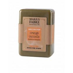 Savonnette 150 g Ecorces d'orange et cannelle à  - SAVONNERIE MARIUS FABRE