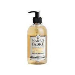 Savon Liquide de Marseille 400ml pompe Amande Am - SAVONNERIE MARIUS FABRE