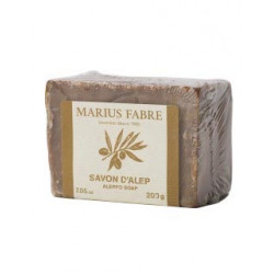 Savon d'Alep 200 g à l'huile d'olive et de lauri - SAVONNERIE MARIUS FABRE