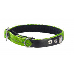 Collier chat lost XS nylon vert - CANIFRANCE