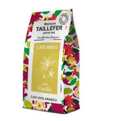 Cafe saveur vanille Maison Taillefer 125g - MAISON TAILLEFER
