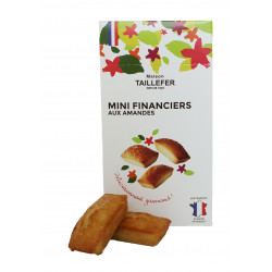 Mini financiers 120g en etui - MAISON TAILLEFER