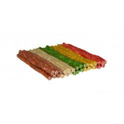 Friandise Cigarettes couleurs mixtes x 100 - BUBIMEX
