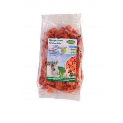 Friandise chips de carottes - BUBIMEX