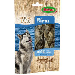 Friandise fish Twisters 60g - BUBIMEX