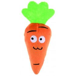 Jouet carotte en peluche contenant herbe à chat - BUBIMEX