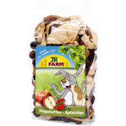 Friandise Chips pommes-baies de cynorrhodon 125g - JR FARM