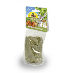 Friandise tunnel gourmand foin-carottes 125g - JR FARM