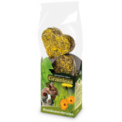 Friandise grainless Little hearts-Marigold 105g - JR FARM