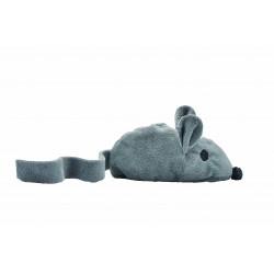 Jouet souris grise avec valériane - BUBIMEX