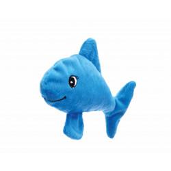 Jouet poisson bleu avec valériane - BUBIMEX