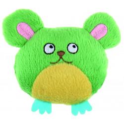 Jouet souris en peluche contenant herbe à chat - BUBIMEX