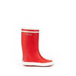 Bottes Lolly-Pop Aigle 26 Rouge/Blanc - AIGLE