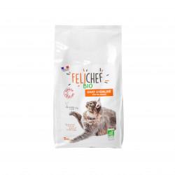 Croquettes BIO Chat sterilisé 5kg - FELICHEF BIO