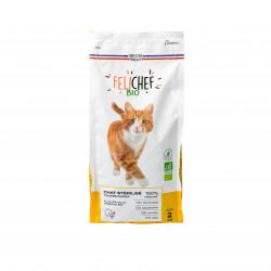 Croquettes BIO sans céréales Chat sterilisé 2kg - FELICHEF BIO