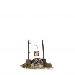 Village ancien accessoires pile 10x10-H10 marron - EDELMAN