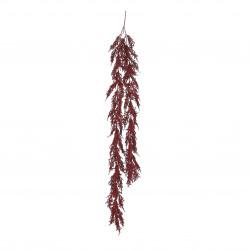 Guirlande cèdre 15x100-H5 rouge - EDELMAN