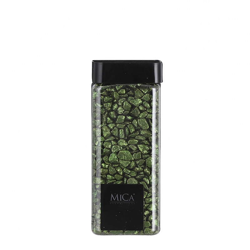 Marbles glitter 550ml vert foncé - MICA