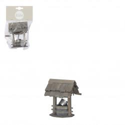 Village ancien accessoires 6.5x7-H9.5 gris - EDELMAN