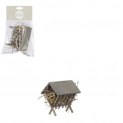 Village ancien accessoires 6x9-H8.5 gris - EDELMAN