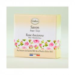 Savon 100g rose ancienne - GALEO