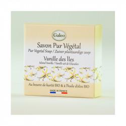 Savon 100g vanille des îles - GALEO