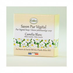Savon 100g camélia blanc - GALEO