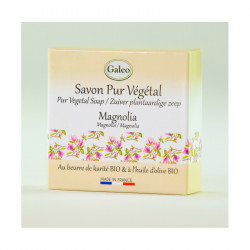 Savon 100g magnolia - GALEO