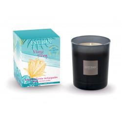 Bougie parfumée rechargeable Ylang ylang - ESTEBAN PARIS PARFUMS