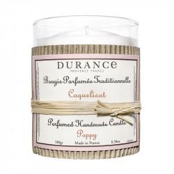 Bougie parfumée 180g coquelicot - DURANCE