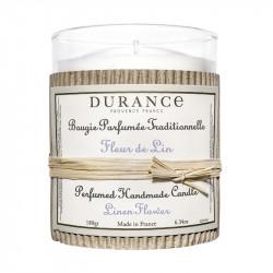 Bougie parfumée 180g fleur de lin - DURANCE