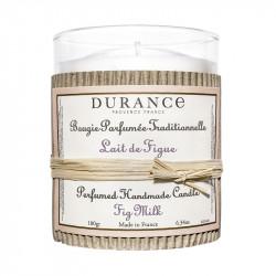Bougie parfumée 180g lait de figue - DURANCE