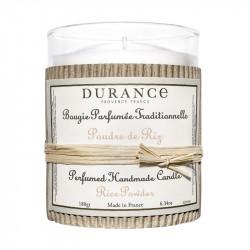 Bougie parfumée 180g poudre de riz - DURANCE