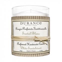 Bougie parfumée 180g santal blanc - DURANCE